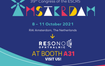 RESONO OPHTHALMIC at ESCRS 2021, Amsterdam